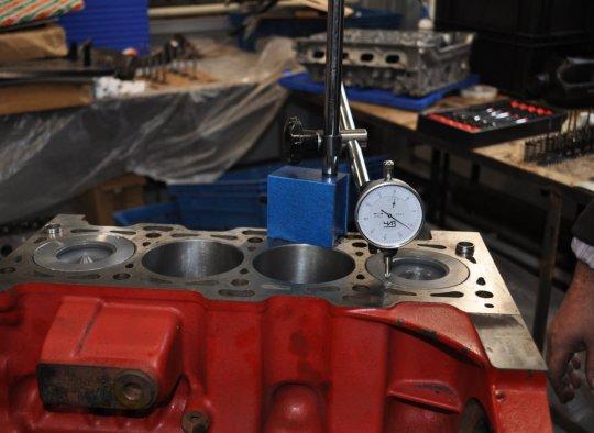Пошаговый ремонт двигателя 115