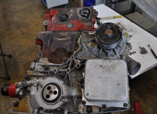 Пошаговый ремонт двигателя 81