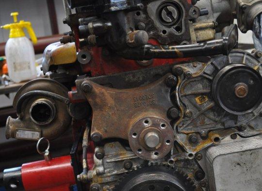Пошаговый ремонт двигателя 158